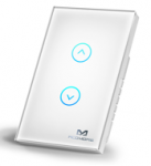 MCOHome Releases New Smart Wireless Z-Wave Plus Touch Panel Switch for Curtain Control