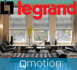 Legrand na acquires qmotion motorized shades z wave alliance for Z wave motorized blinds