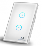 MCOHome Releases New Smart Wireless Z-Wave Plus Touch Panel Dimmer