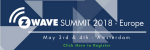 Z-Wave Summit 2018 – Europe