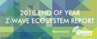 Z-Wave Alliance Releases first-ever 2018 End of Year Z-Wave Ecosystem Report