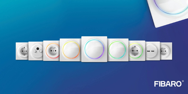Fibaro S New Outlets And Switches Series At Ise 2019 Are A